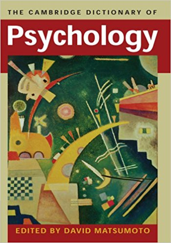 The Cambridge Dictionary of Psychology